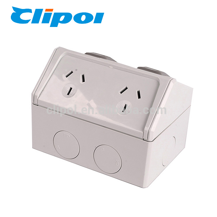 AS/NZS WGPO2 electric socket weatherproof double GPO powerpoints