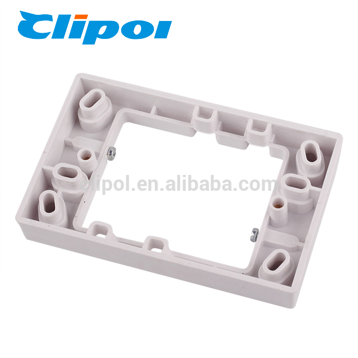 Electrical plastic mounting part surface mount terminal block
