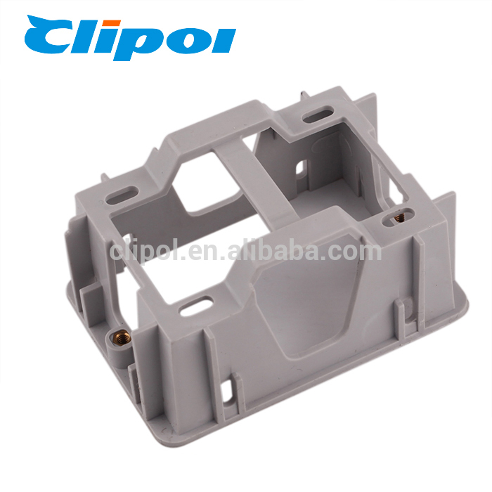 Electrical accessories plastic surface switch recess wall mount box