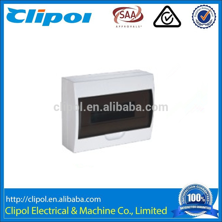 New Product 4 Way Surface Mount IP40 Electric ABS Distribution Box