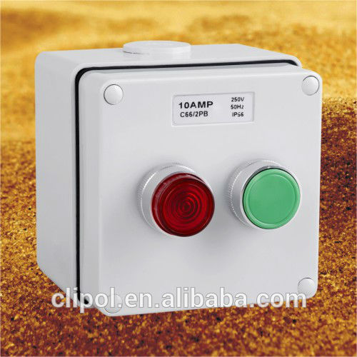 IP66 STOP/START Push Button Controlstations start/ stop control station