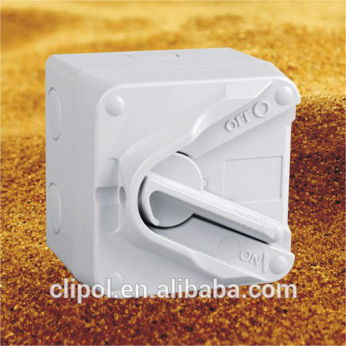 Australia outdoor style mini Isolating Switches 1pole 20A mini isolator Clipol
