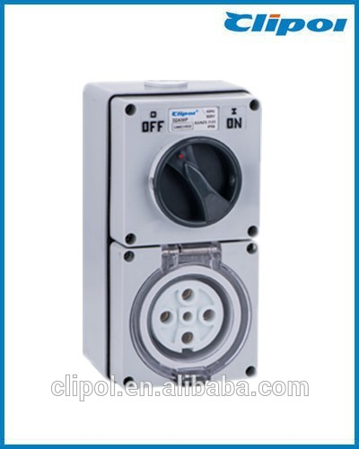 Australia durable Switched Sockets 5pin 32A Switched Sockets