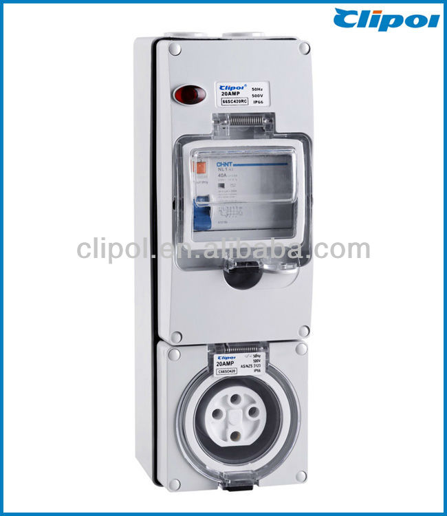 Australia RCD Protected outlets Socket 2014 new RCD