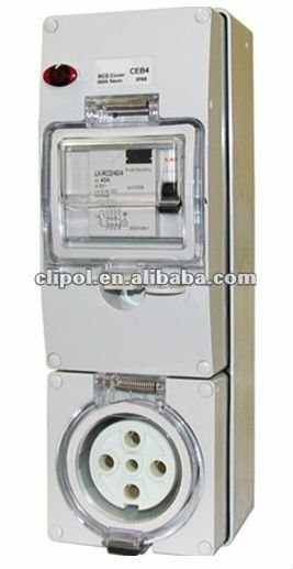 RCD Beskerme uitlaten Socket / wall switch / combinational socket