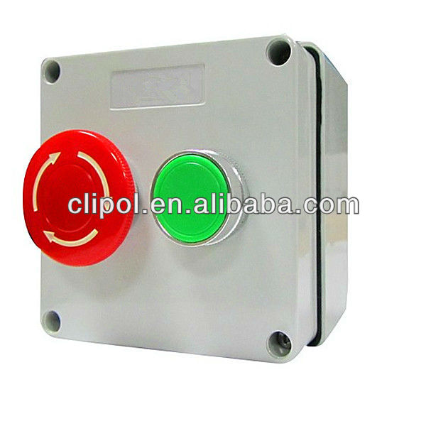 IP56 Waterproof SAA Approved Australian Standard Pushbutton Control Switches