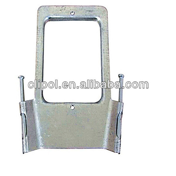 Vertical Mounting Bracket With Nails 1.2mm