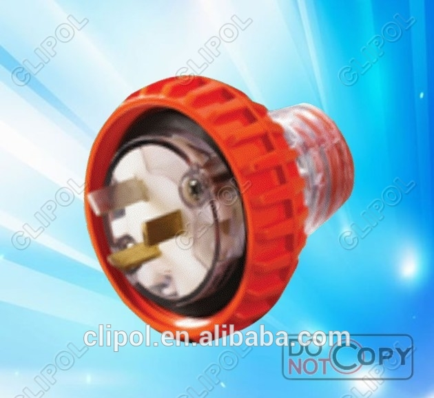 Featured products newest Australia 250V single phase 3pin 15amp New zealand electrical plug