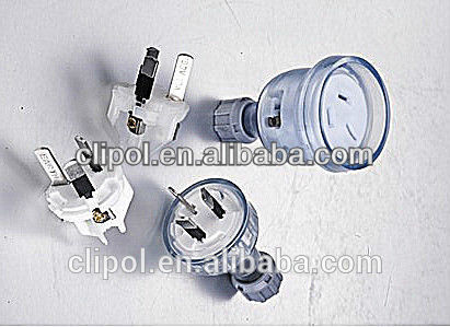 Hottest Australia standard plug Rewirable plugs and sockets