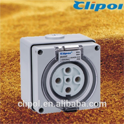 C66SO550 Australia weatherproof industrial socket outlet