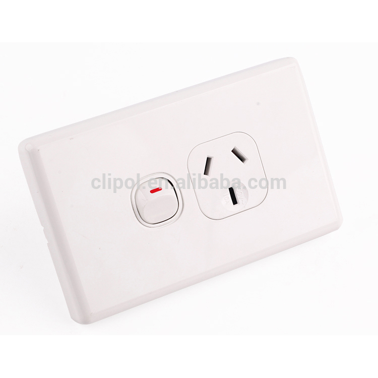 SAA Domestic Wall Switches and Power outlet Single