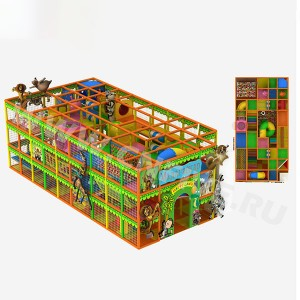 Game sports labyrinth for kindergarten CNF-A17104 price