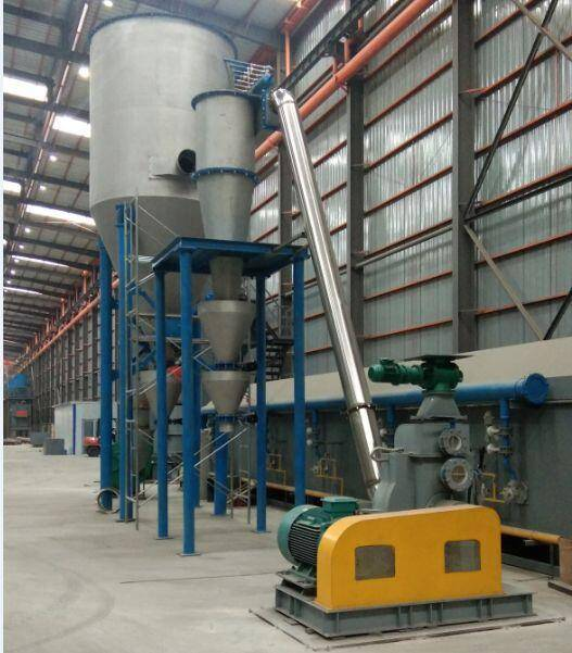 Hard pitch powder processing equipment & system
