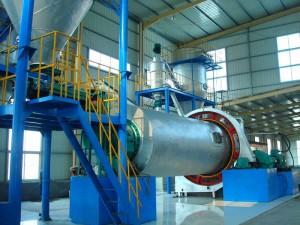 LHM-B Ceramic Media Ball Mill Classifying Production Line