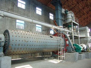 LHM-A Alloy Media Ball Mill Classifying Production Line