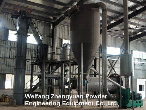 Nepheline powder processing methods
