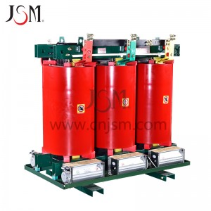 SCB11 series pouring resin insulation dry-type transformer 11KV