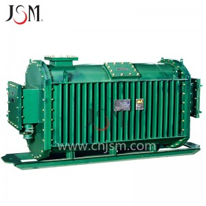 KBSG series 6kv, 11kv flameproof movable dry-type transformer