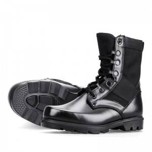 Tactical security boots special service training leather boots