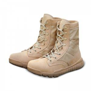Men's special army boots antiskid and breathable outdoor boots