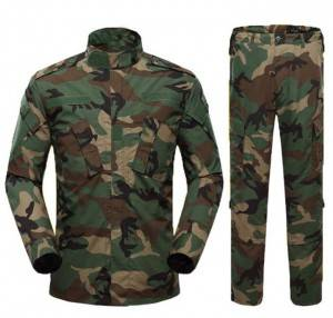 Military uniform camouflage army dress uniforms military with pockets