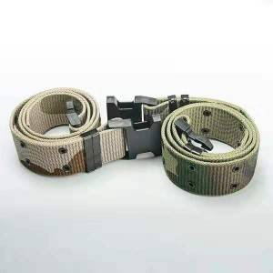 Outdoor multifunctional tactical belt nylon woven training belt