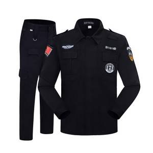 High quality security guard uniform security uniform tactical uniform for man