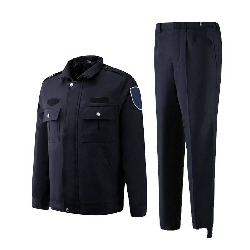 China Hot Sale Best Uniform Factory Security Guard Uniform Custom Guard Work Wear Uniform Security Suits For Man Junyiku Factory And Manufacturers Junyiku
