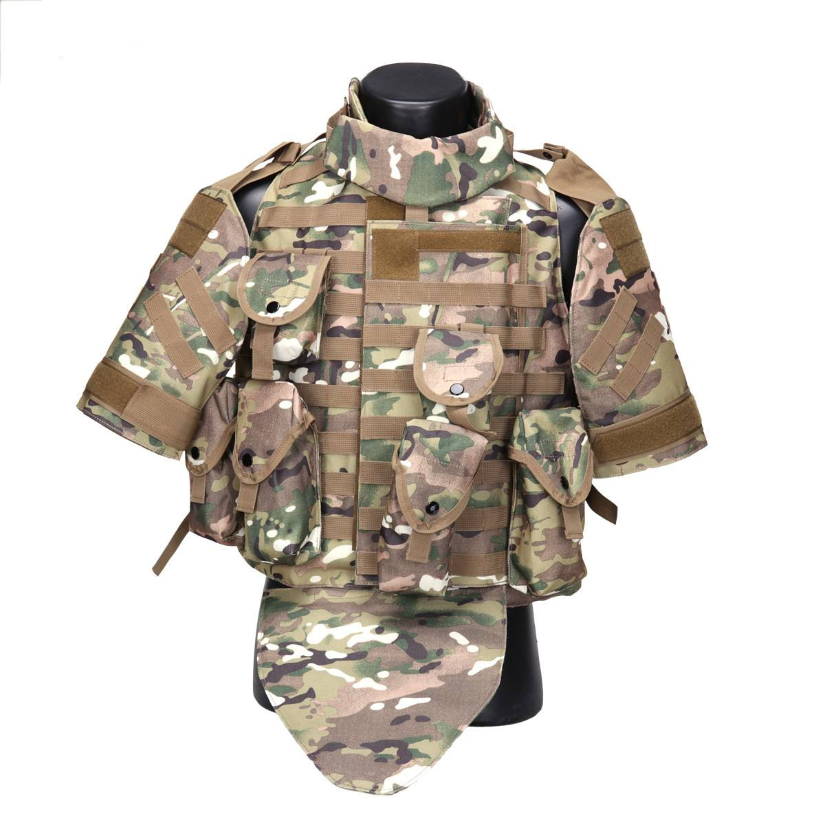 OTV interceptor tactical vest field equipment camouflage outdoor expansion battle vest Featured Image