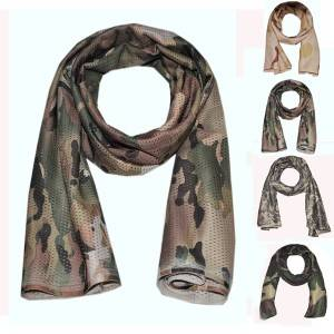 Outdoor camouflage scarf tactics jungle camouflage windproof and dustproof scarf