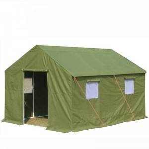 Custom wholesale sale canvas waterproof army military rescue tent outdoor camping Tent