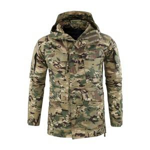Army Military Tactical Men's Outdoor Waterproof Windproof Military Jacket