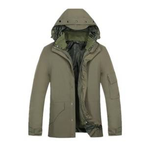 High-quality men's field army green military jacket camouflage soft shell jacket outdoor jacket waterproof with pocket
