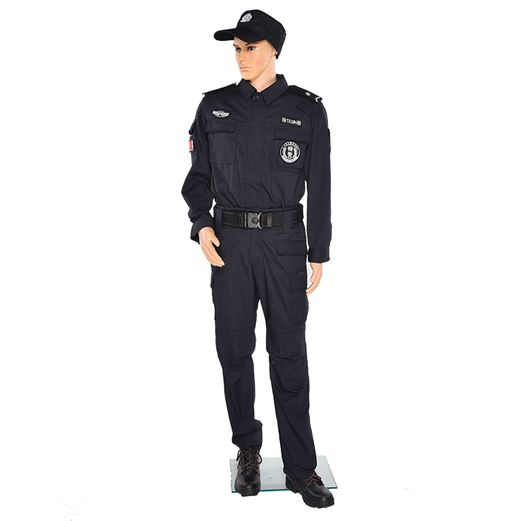 High quality long sleeve custom security officer guard uniform security guard uniforms for sale