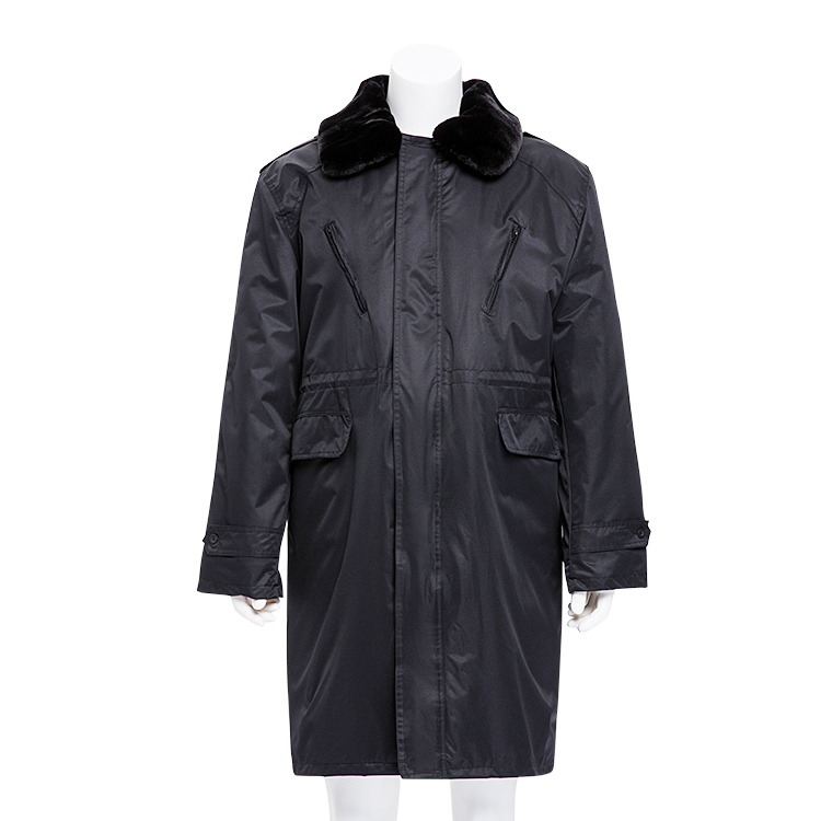 High Quality Black Work Uniform Coat For Men Multi-Functional Winter Clothes ,Waterproof Work Wear
