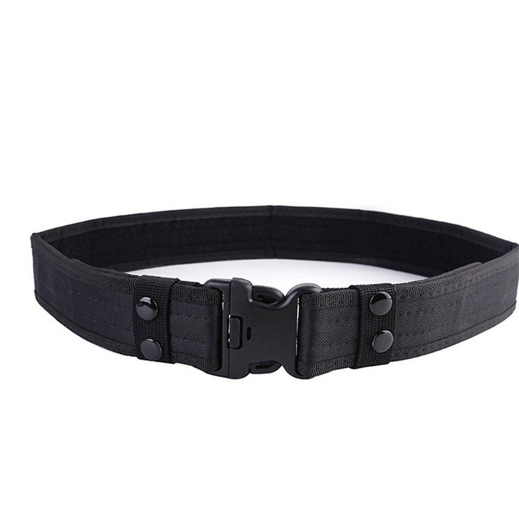 Customized low-cost military outdoor training belt