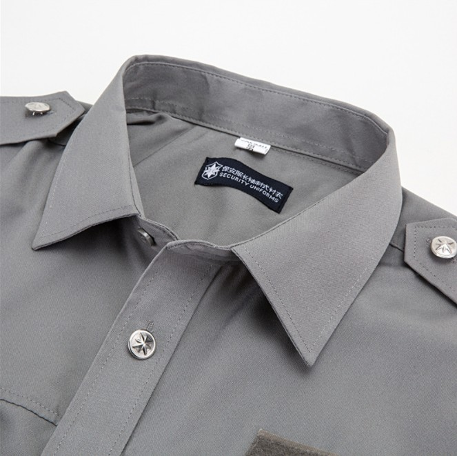 Wholesale high quality Multi-pocket quick-dry shirt lapel mountaineering t shirt ,Long sleeve tactical shirt for men