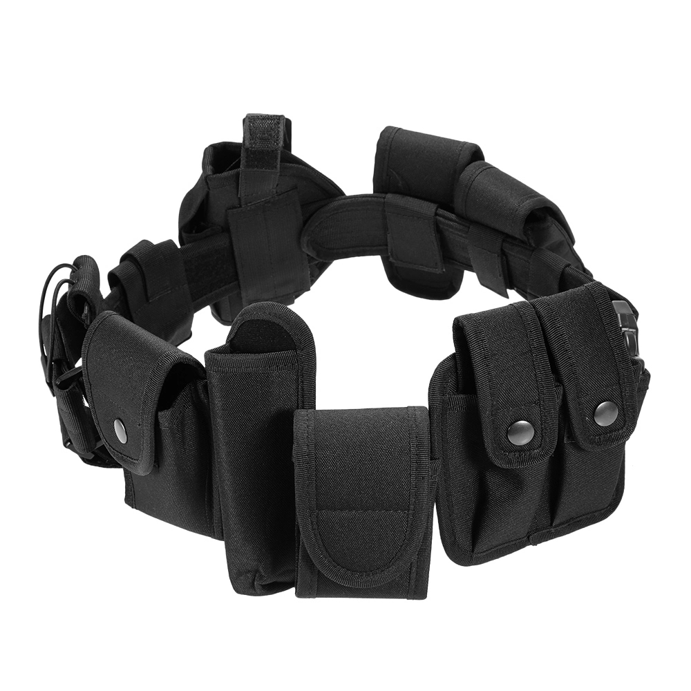 Tactical Belt Waist Gun Bag Flashlight Bag Commander's Bag