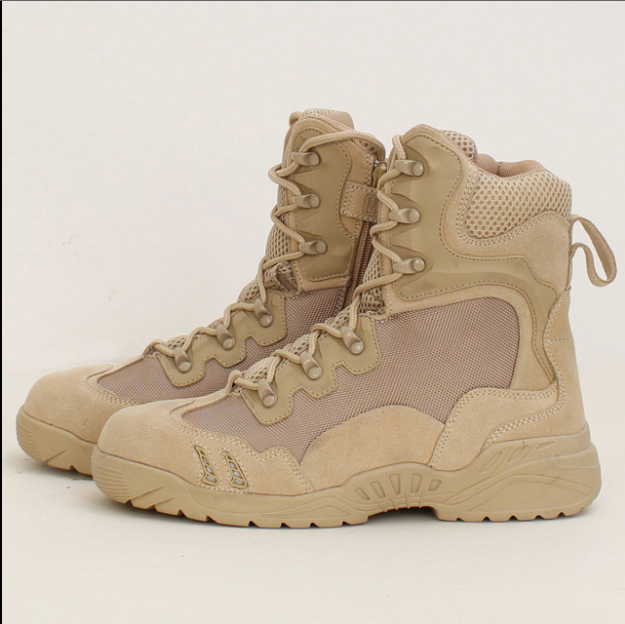 Low Price Factory Delivery Top quality hiking boots camouflage combat training boots