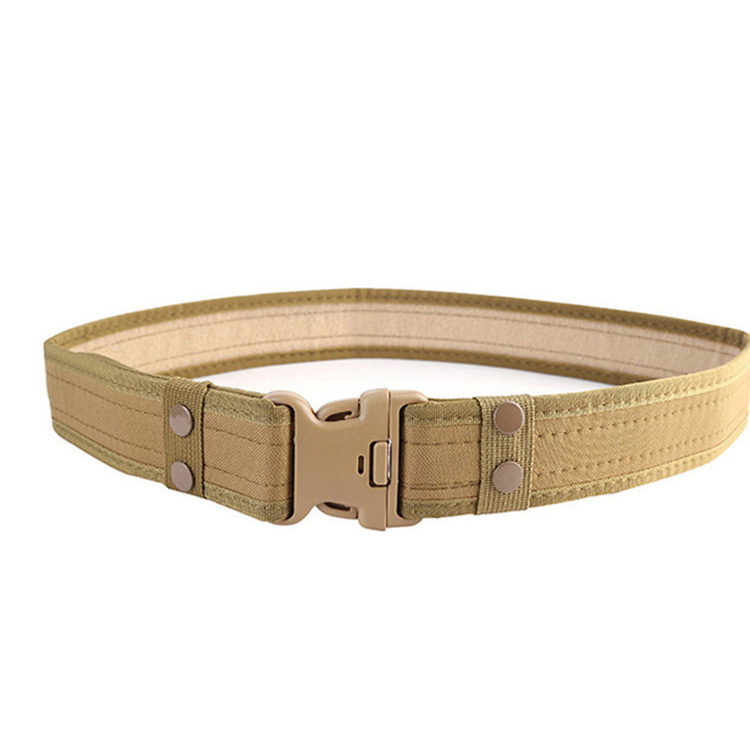 Adjustable Outdoor Tactical Military Belt Multicolor Optional