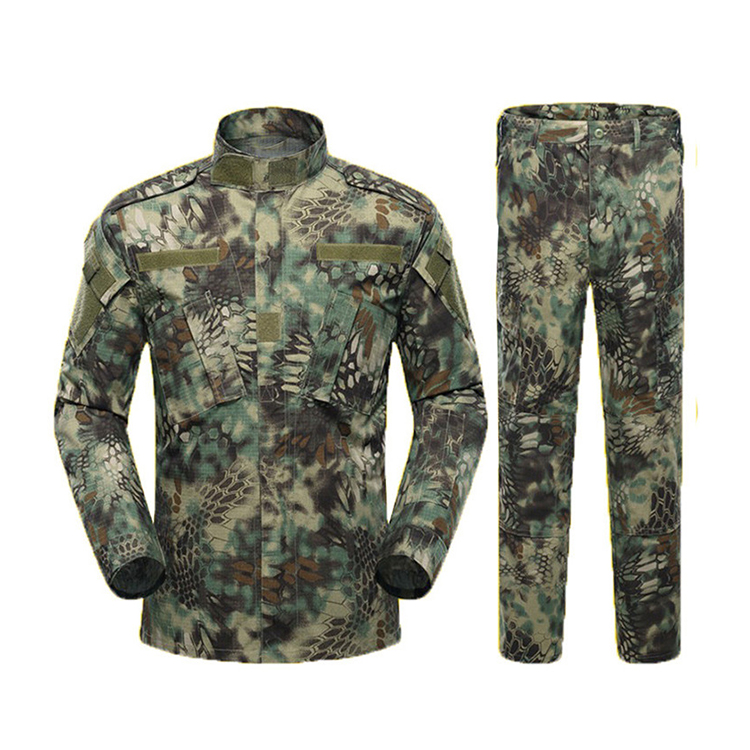 Wholesale ACU jungle woodland military digital camouflage clothing /Tactical clothing/65% polyester 35% cotton