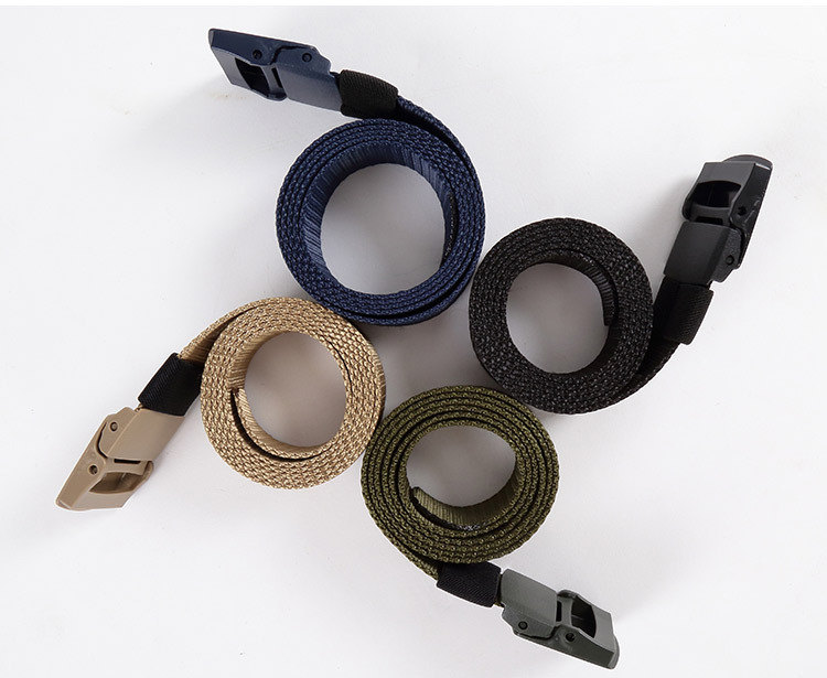 Top Multicolored Military Nylon Tactical Belt Black Grey Green