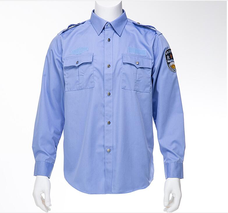 Wholesale high quality tactical shirt outdoor long sleeves security guard uniform