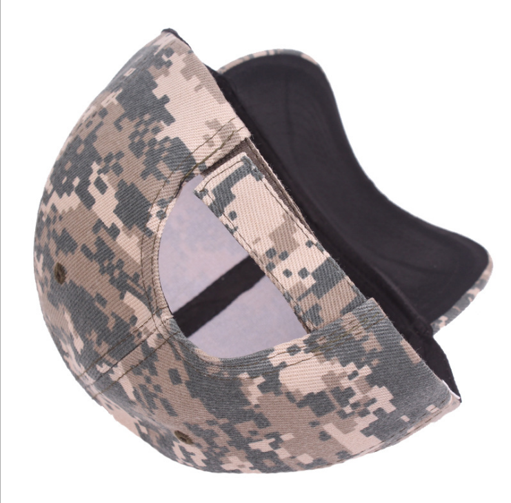 Factory wholesale outdoor unisex sun protection baseball military cap