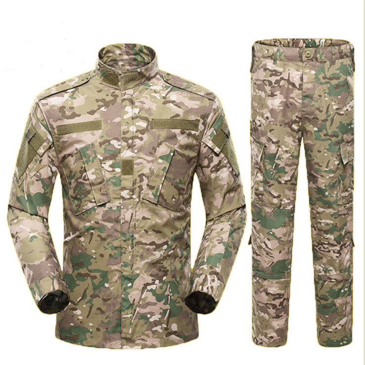 Customized wholesale high quality acu suit uniforms for military users tactical uniforms ACU camouflage