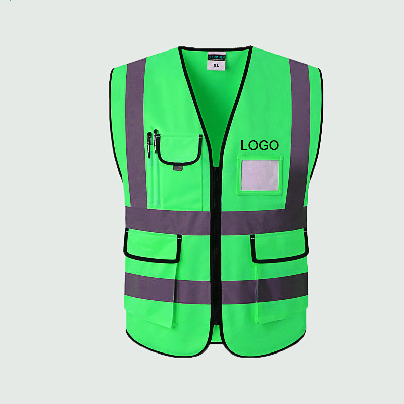 free sample reflective safety vest jacket high visibility safety vest