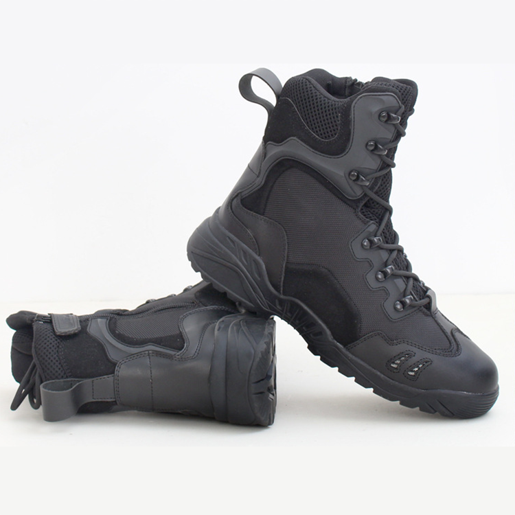Wholesale outdoor best tactical shoes military camouflage combat boots
