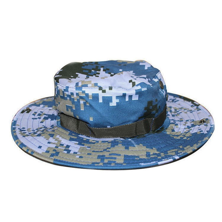 Factory wholesale direct sales  outdoor sun protection camouflage round hat