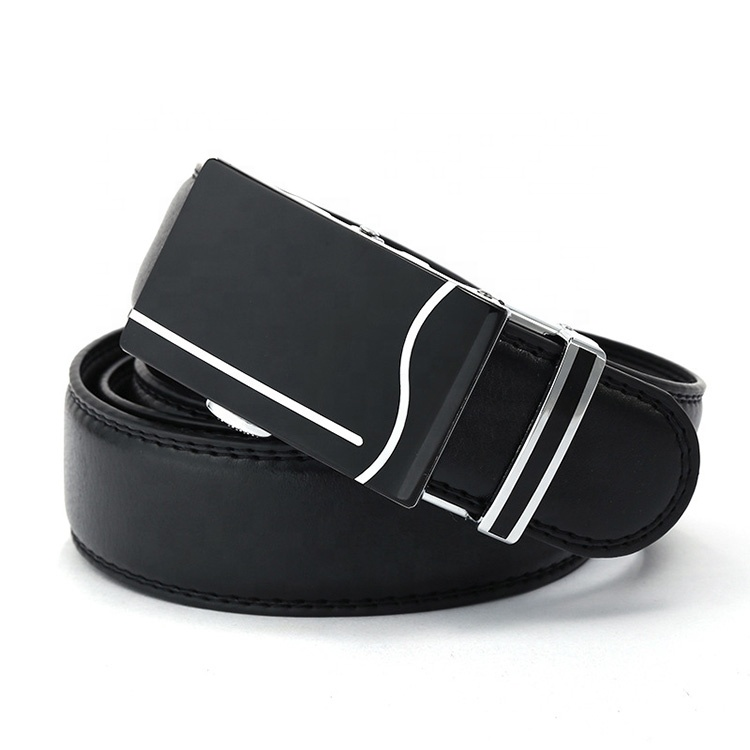 New products customized high quality Genuine leather belt business fashion belt officer leather belt