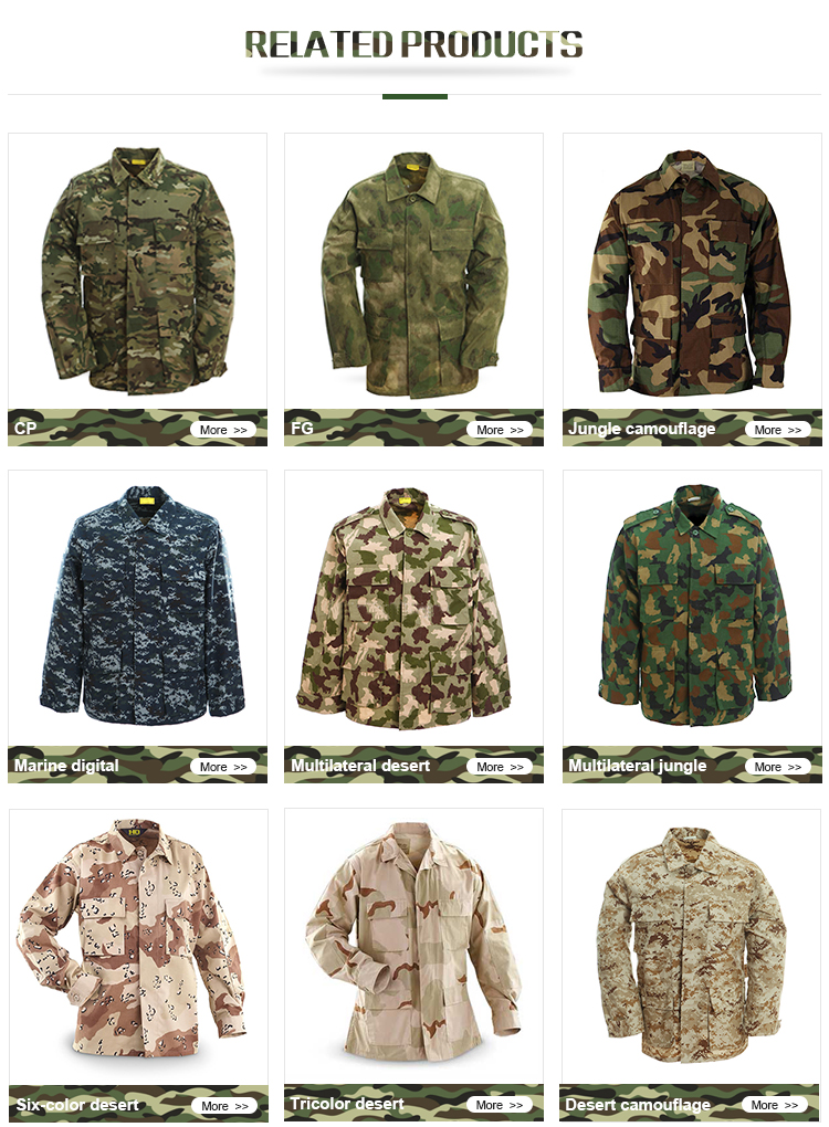 Hot New Products Military Tactical Uniform -